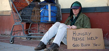 Helping the homeless and hungry