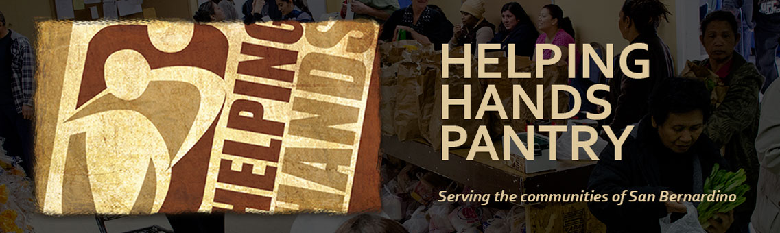 Helping Hands Pantry header image